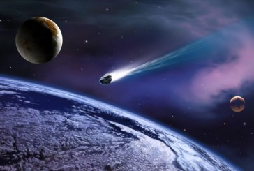 Сегодня мимо Земли пролетело сразу два огромных астероида