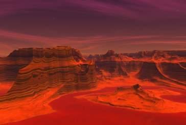 Ученые: раньше в атмосфере Марса был кислород