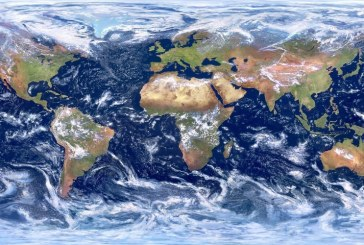 Карта облаков разоблачает жизнь на Земле