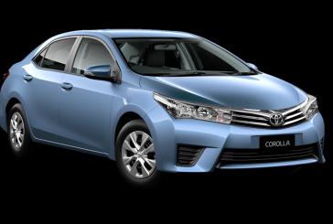 Обновленная Toyota Corolla: первые фотографии автомобиля