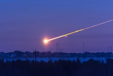 В штате Аризона упал астероид диаметром около трех метров