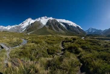 Аораки – «большое белое облако» Новой Зеландии