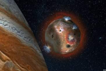 Атмосфера Ио периодически замерзает из-за Юпитера
