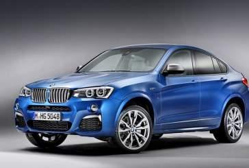 В России стартовала продажа топового кроссовера BMW X4