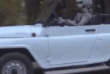 Дмитрий Рогозин продемонстрировал робота-космонавта Федора — видео