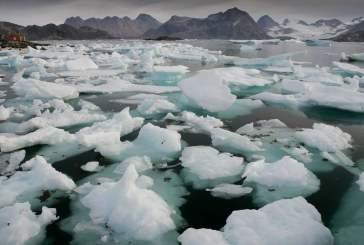 Воздух в Арктике стал на 20 градусов теплее нормы