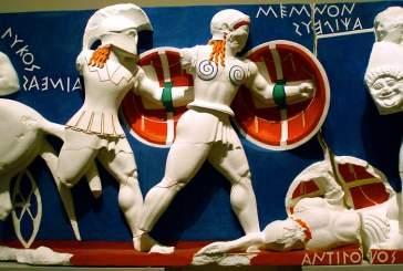 Скульптуры Древней Греции были цветными!