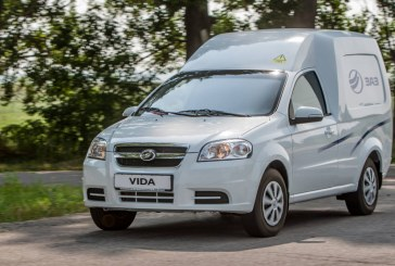 ZAZ наладил производство нового двухместного автофургона