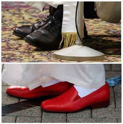 Папа римский Франциск отправился в магазин покупать себе ботинки