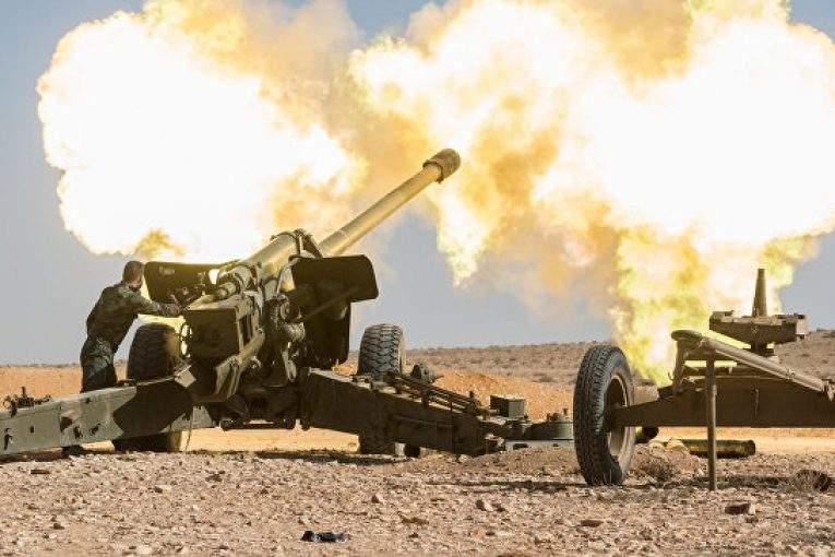 ВИдлибе войска САР начали ликвидацию группировки «ан-Нусра»— МОРФ