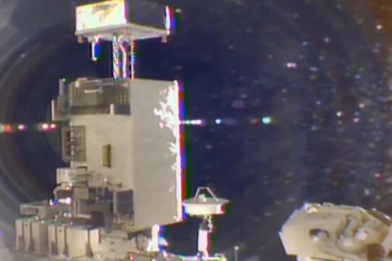 Уфологи заметили в январе необычный НЛО возле МКС (видео)