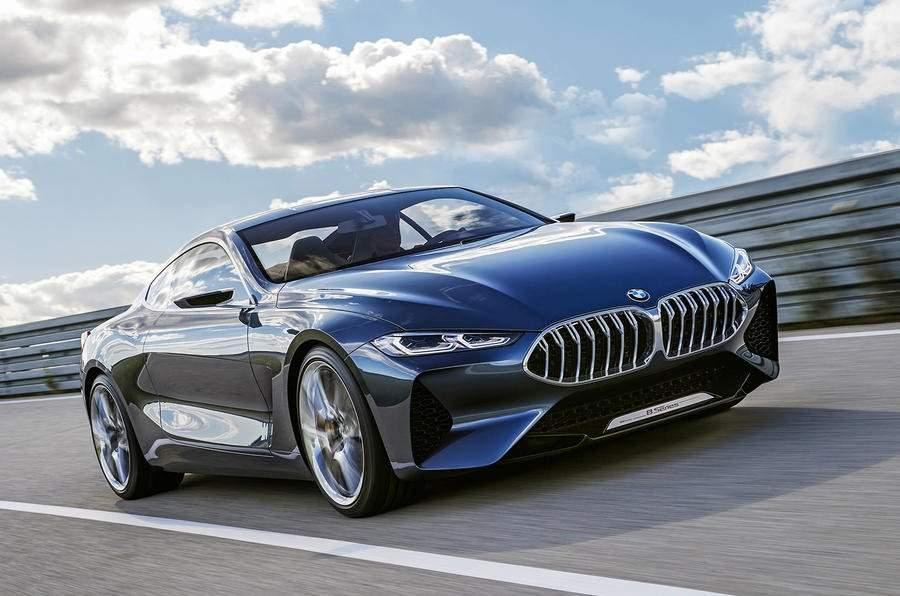 Представлен официальный тизер купе BMW 8-Series