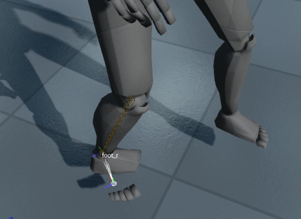 Cкелетная анимация в Blender: основные правила и простейший пример