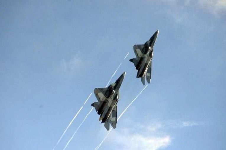 Истребитель 5-ого поколения Су-57 начал полеты с новым оружием