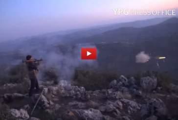 Опубликовано новое видео боев между курдскими отрядами и турецкой армией в Африне