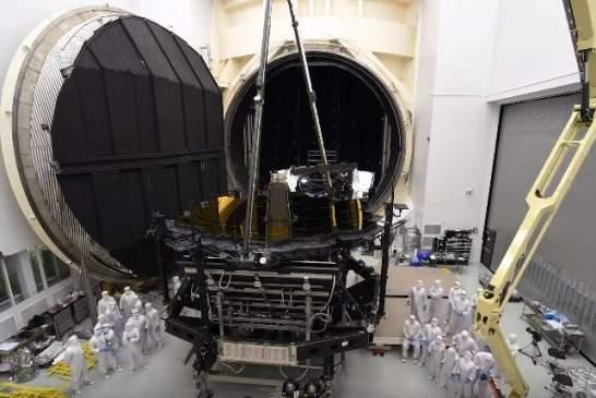 NASA показало на видео новый космический телескоп James Webb