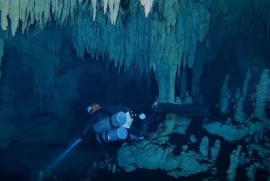 В Мексике найдена крупнейшая в мире затопленная пещера