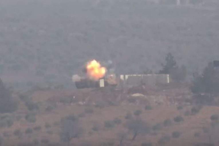 Курды сказали обуничтожении 5-ти турецких танков вАфрине