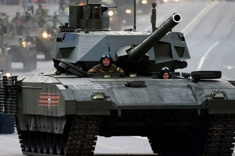 В РФ серийное производство танков «Армата» намечено на 2020г.
