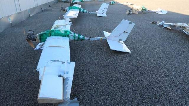 Минобороны РФ опубликовало новые фото дронов, атаковавших военные базы в Сирии