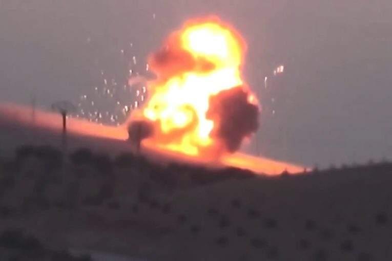 Курды уничтожили турецкий танк вАлеппо