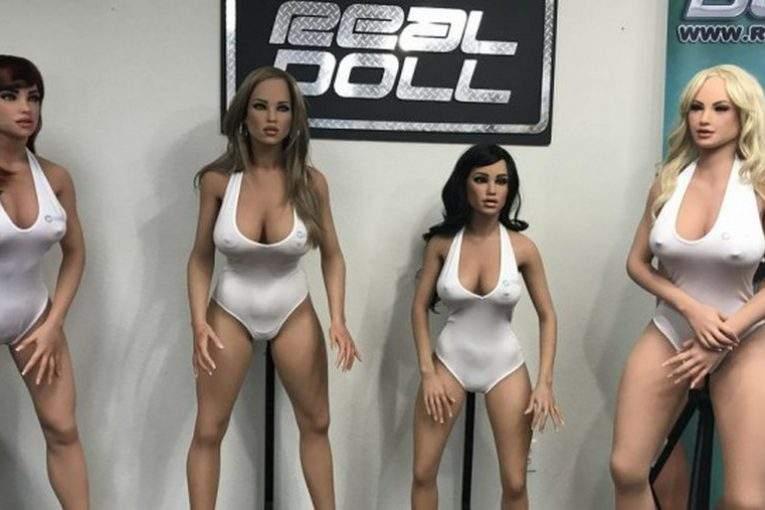 Анонсирован выпуск особого  секс-робота в этом 2018г.