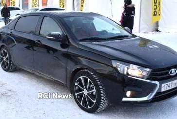 В Сети опубликованы снимки роскошной Lada Vesta президента «АвтоВАЗа»