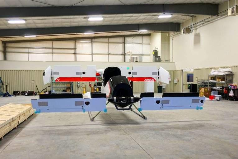 Беспилотное аэротакси Airbus совершило 1-ый успешный полет
