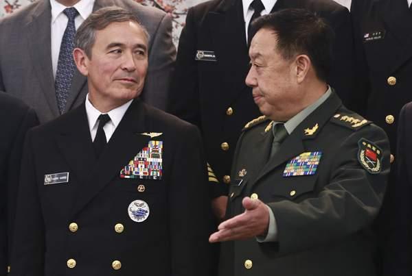 Американский адмирал заговорил в съезде овойне сКитаем