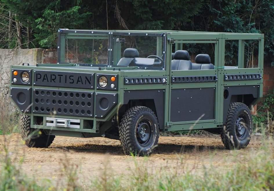 Partisan Motors президентский вседорожный автомобиль дляРФ