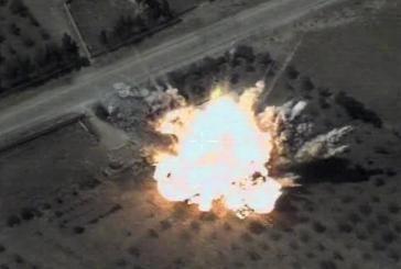 Появилось видео удара США по сирийским подразделениям