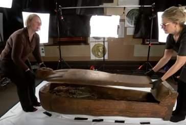 В австралийском университете в саркофаге случайно обнаружили мумию
