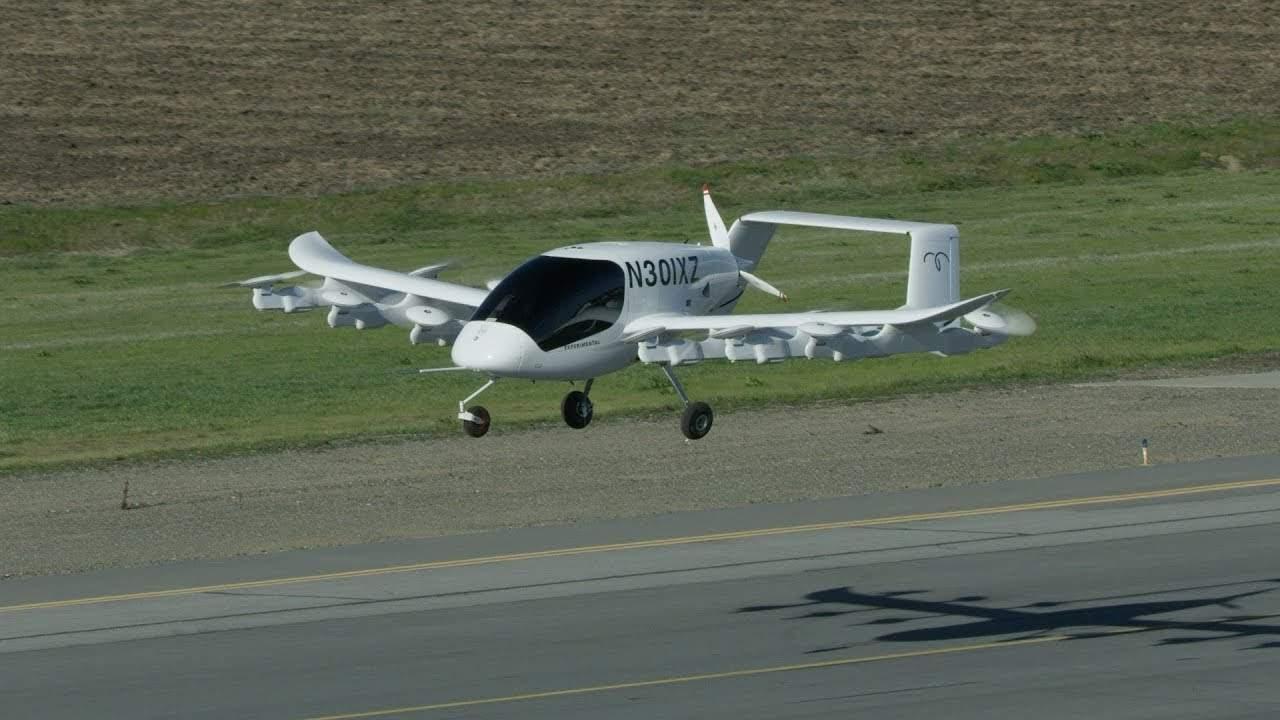 ВНовой Зеландии испробовали новое беспилотное воздушное такси