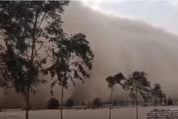 На Египет обрушилась мощнейшая песчаная буря