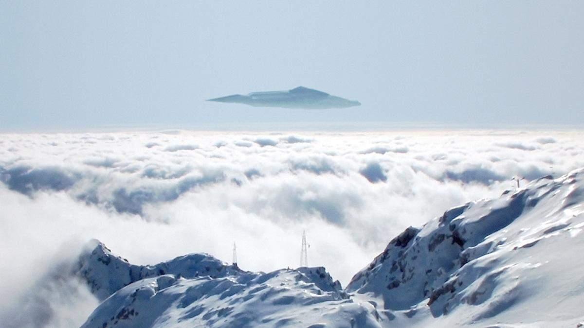 Вweb-сети интернет размещено видео спарящим НЛО над Австрией