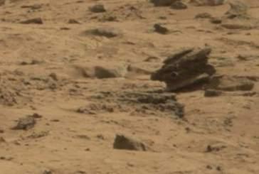 Уфологи обнаружили на Марсе брошенный «инопланетный дрон»
