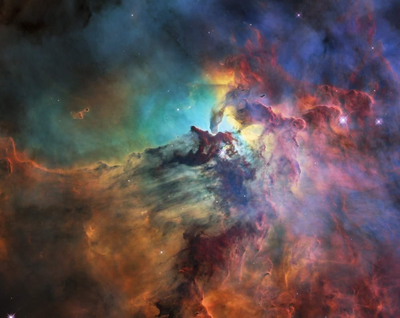 Вглобальной сети появились необычайные фотографии туманности Лагуна
