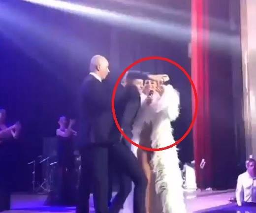 НаАни Лорак набросились вовремя концерта в Российской Федерации