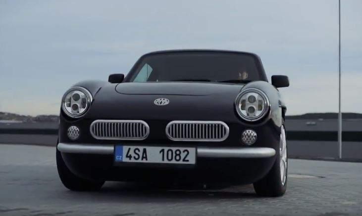 В Чехии придумали электромобиль в ретро стиле