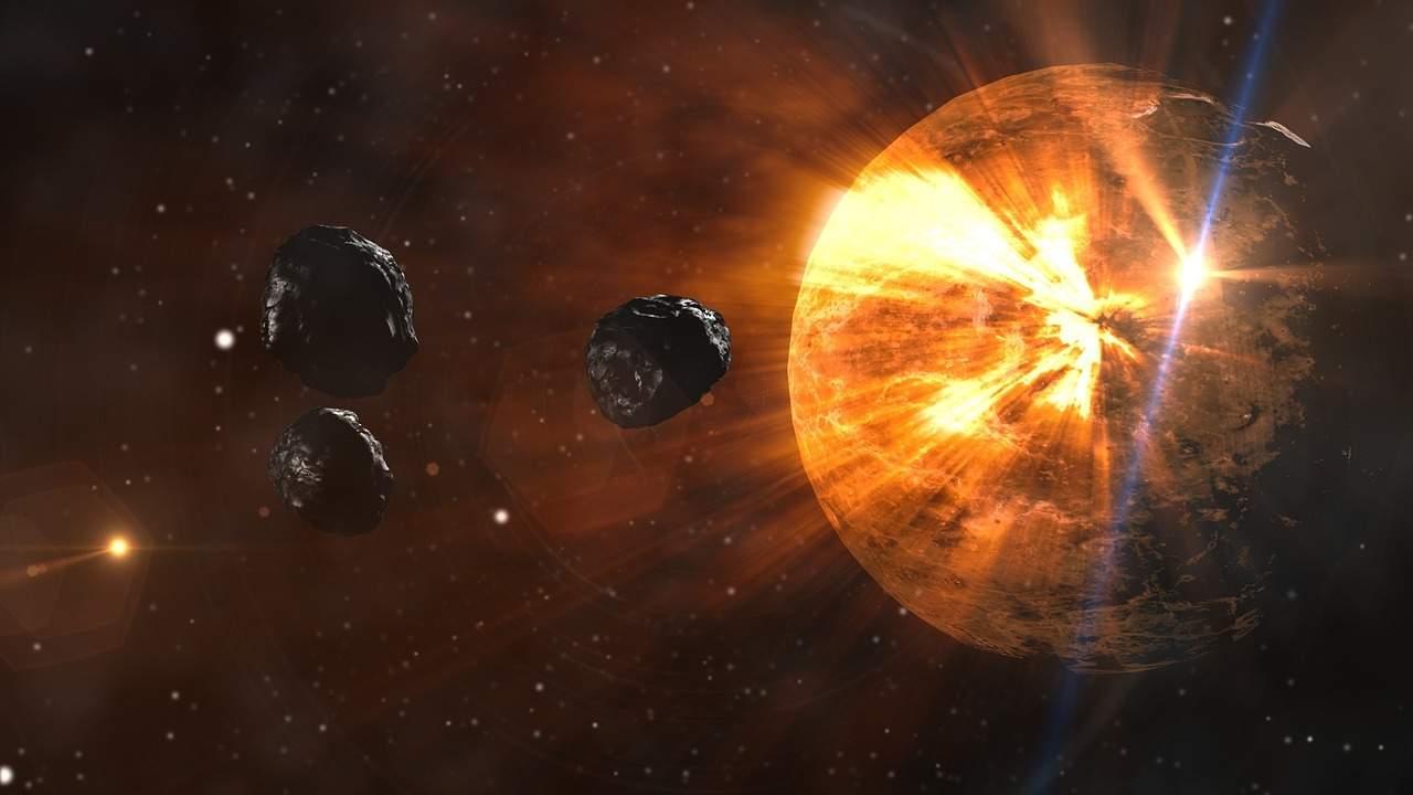КЗемле приближается более миллиона мелких астероидов