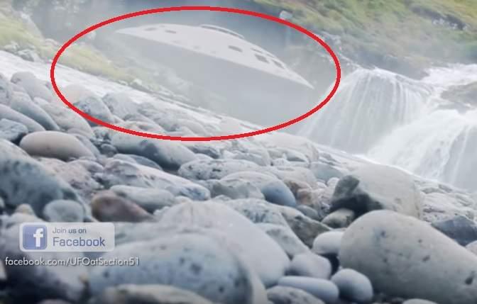 Размещено видео столкновения дрона сНЛО вИсландии