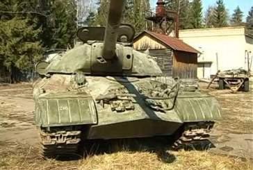 В Параде Победы в Санкт-Петербурге примет участие танк ИС-3