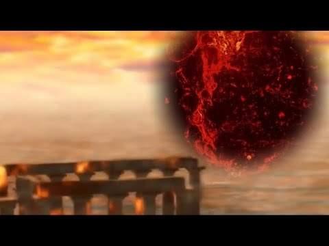 Путешественник вовремени продемонстрировал кадры, как смертоносная планета Нибиру уничтожает Землю