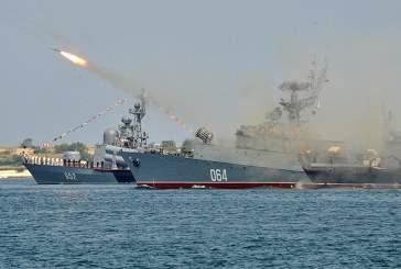 В Средиземном море начали учения четыре корабля Черноморского флота