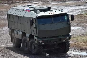 В Новосибирской области спецназ впервые испытал броневики «Тайфун-К»