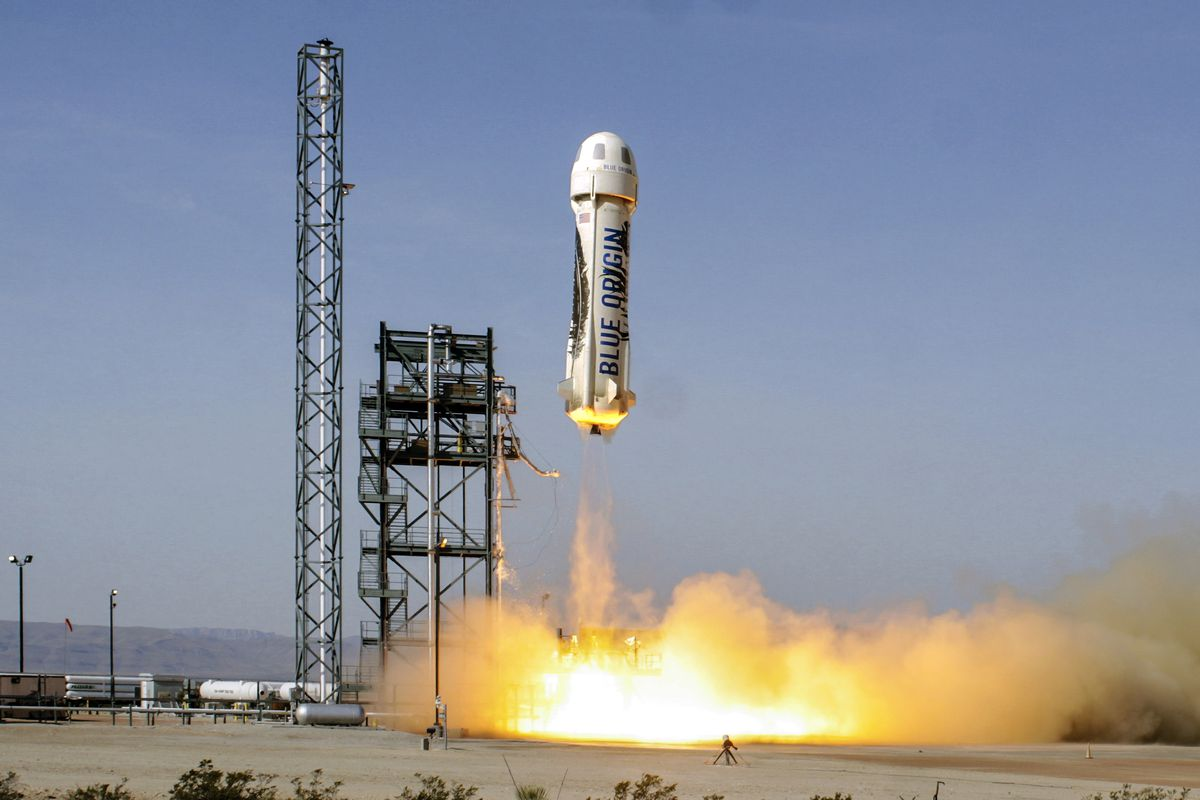 Blue Origin проведет испытание собственной суборбитальной ракеты 29апреля