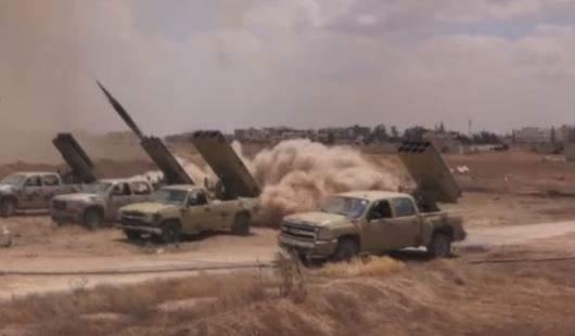 Армия Сирии наносит удары покомандным пунктамИГ наюге Дамаска