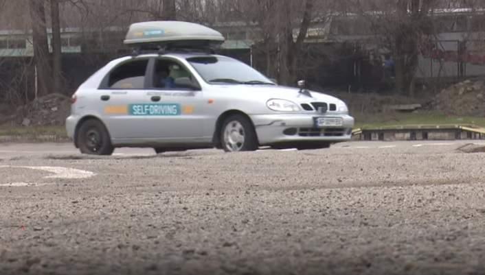 На Украине сделали беспилотный автомобиль