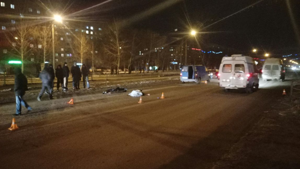 В столицеРФ  шофёр  насмерть сбил пешехода и исчез  сместа ДТП