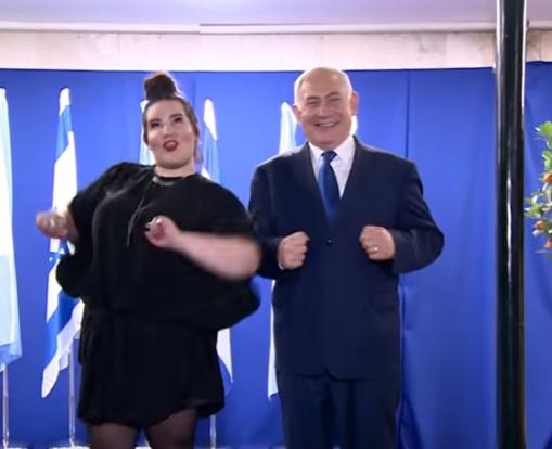 Танец курочки исполнил премьер  Израиля Биньямин Нетаньяху